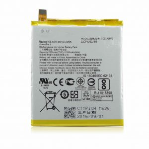 C11P1601 2650mAh akku für Asus ZenFone 3 ZE520KL